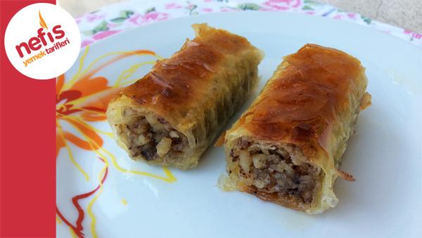 ... Rulo Baklava | Kolay Baklava | Nefis Yemek Tarifleri | İzlesene.com