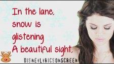 Selena Gomez & The Scene - Winter Wonderland (Lyrics On Screen)