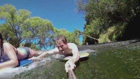 Gopro İle Yeni Zelanda Rock Sliding