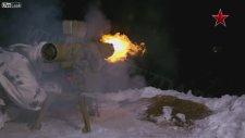 Tankların Ve Ağır Makinalı Silahların Ateşlenişleri
