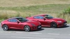 Jaguar XK Dynamic R ve F-type R Coupe Sürüş Testi