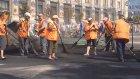 """Bağımsızlık Meydanın'da """"Subotnik"""" temizliği yapıldı - KİEV"""