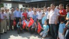 Güreşçi Bayrak konvoyla karşılandı - SAMSUN
