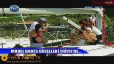 Feyza Çıpa,Sevil Uyar,Nigar Talibova ve Diğerleri Model Boats 07.07.2011 Frikik Video FRİKİK WORLD