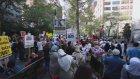 İsrail'in Gazze'ye saldırılarının protesto edilmesi - NEW YORK