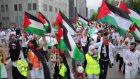 ''Filistin için Beyaz Yürüyüş'' düzenlendi - BRÜKSEL