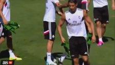 Toni Kroos Antrenmanda Ronaldo'yu Bezdirdi