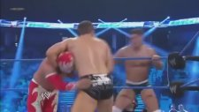 Sin Cara And Rey Mysterio Vs. Cody Rhodes And The Miz - Wwe Smackdown