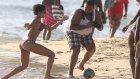 Rihanna Futbola Merak Saldı!