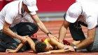 Avrupa Atletizm Şampiyonası'nda feci kaza!