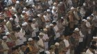 Endonezya'da on binlerce kişi Gazze için dua etti