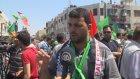 Ramallah'ta Gazze'ye destek gösterisi