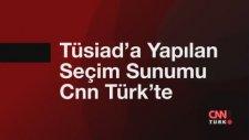 TÜSİAD'a yapılan seçim sunumu