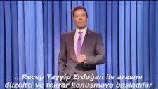 Jimmy fallon ''Recep Tayyip Erdoğan'' Demeye Çalışıyor