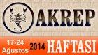 AKREP Burcu HAFTALIK Astroloji Yorumu videosu, 17 24 Ağustos 2014, Astroloji Uzmanı Demet Baltacı