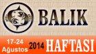 BALIK Burcu HAFTALIK Astroloji Yorumu videosu, 17 24 Ağustos 2014, Astroloji Uzmanı Demet Baltacı