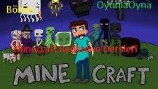 Minecraft Redstone Dersleri-Bölüm 1