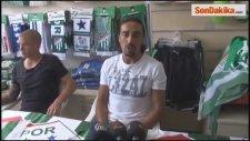 Bursaspor'da İbrahim Öztürk ve Holmen taraftarla buluştu -