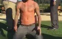 David Beckham Da Buzlu Su Modasına Uydu