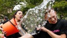 Bir Kova Su Kampanyası En Kötü Denemeler - ALS Ice Bucket Challenge Fails Compilation