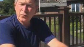 George W Bush - Ice Bucket Challenge ALS