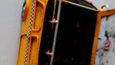 Erkeğe Doğum Günü Hediyesi  Harika Sarı Nostajik Taksi