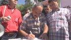 """""""Gazze için canlı kalkan ol"""" imza kampanyası - ESKİŞEHİR"""