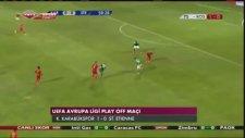 Karabükspor - Saint Etienne 1-0 Maç Özeti