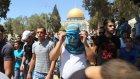 Mescid-i Aksa'da Gazze'ye destek eylemi - KUDÜS