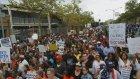 Öldürülen siyahi Garner için düzenlenen protesto - NEW YORK