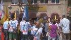 Açıklanan puanları protesto ettiler - TEKİRDAĞ