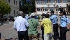 Eğitimcilerin basın toplantısına  polis engeli