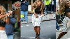 Serena Williams Camı Çerçeveyi İndirdi