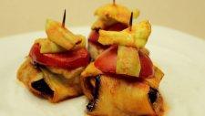 Köfteli Kürdan Kebabı Tarifi - Patlıcan Bohçası Nasıl Yapılır