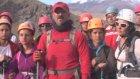 Görme engelli dağcılar, Ağrı Dağı'na tırmandı