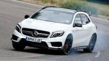 Mercedes-Benz GLA 45 AMG Sürüş Testi