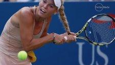 Güzel tenisçi Caroline Wozniacki'nin Saçıyla İmtihanı