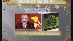 Mehmet Emin Ay - Kaside-i Bürde