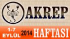 AKREP Burcu HAFTALIK Astroloji Yorumu videosu, 1 7 Eylül 2014, Astroloji Uzmanı Demet Baltacı