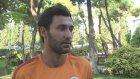 Galatasaraylı futbolcu Veysel Sarı - İSTANBUL