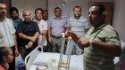 İHH gönüllüleri, Filistinli yaralıları ziyaret etti - AFYONKARAHİSAR