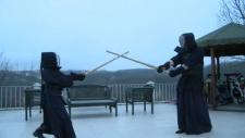 Aile Çocuk Aktiviteleri - Kendo yapan baba Ve oğlun yeteneklerine inanamayacaksınız!
