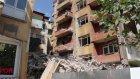 Patlamada hasar gören bina yıkıldı - DENİZLİ