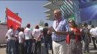 Ankara - CHP Kurultayı - BELTAŞ işçileri eylem