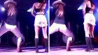 Dans Ederken Pantolonu Yırtılan Kızın Zor Anları