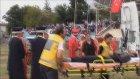 Mehteran takımında görevli bir kişi, tören sırasında düşerek yaralandı - BİLECİK