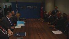 NATO Devlet ve Hükümet Başkanları Zirvesi'nde Yunanistan Başbakanı Samaras ile Görüştü