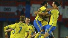Avusturya 1-1 İsveç Maç Özeti (8.9.2014)