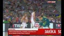 Türkiye 65-64 Avustralya Maçı Son Anları Ve Murat Kosova