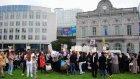 Yezidiler'den IŞİD protestosu - BRÜKSEL
